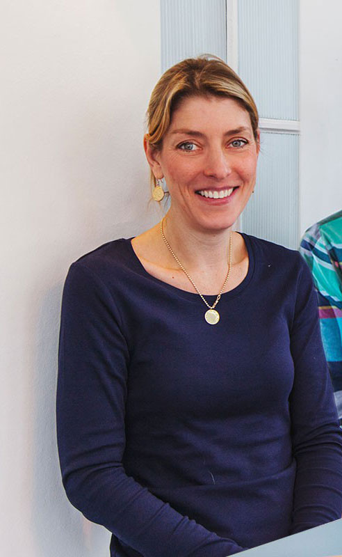 Britta Fischer, Mitarbeiterin der Goldmarie am See