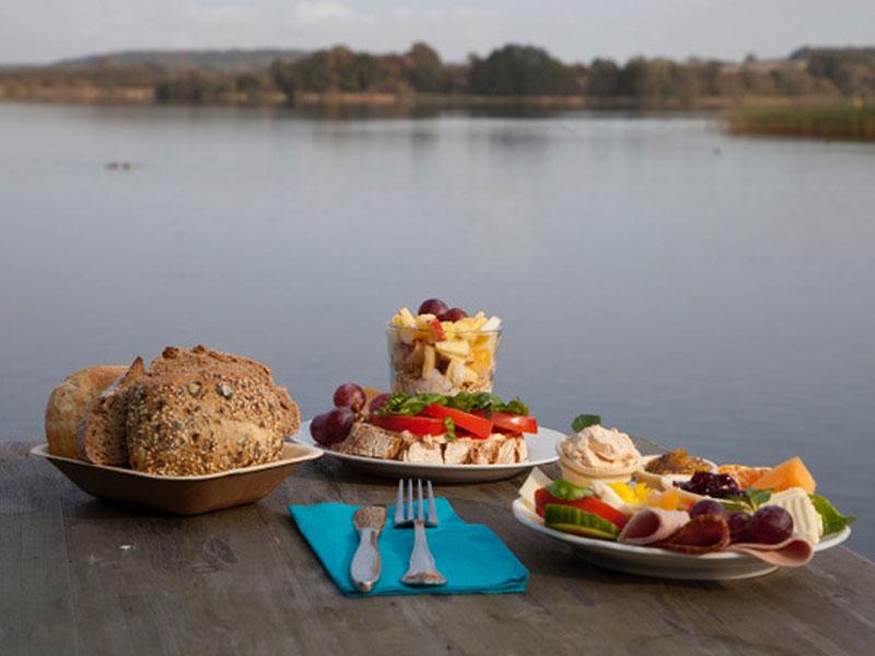 Frühstück in der Goldmarie am See