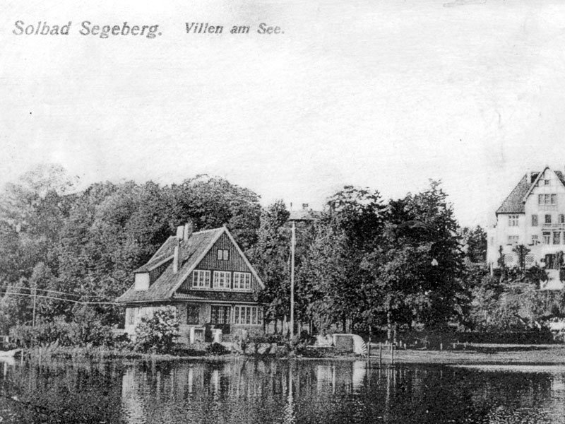 Goldmarie am See, Villa 1914