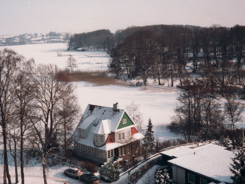 Goldmarie im Winter 1990
