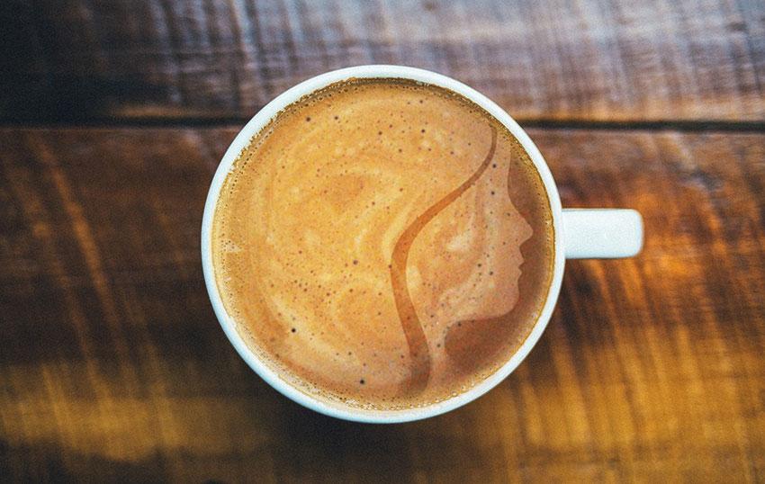 Kaffee in der Goldmarie am See