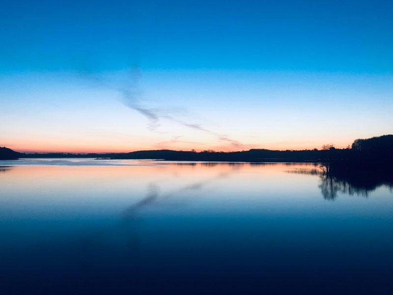 Sonnenaufgang am Seegeberger See