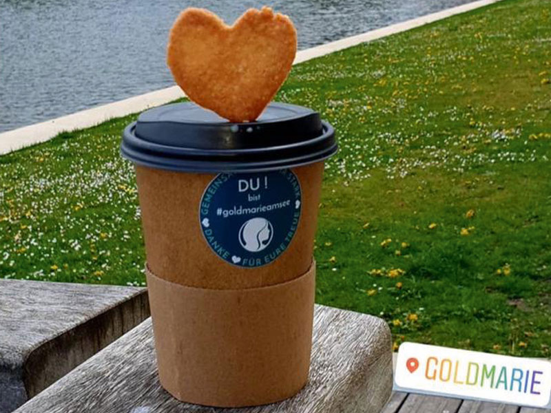 Kaffee to go - Goldmarie am See