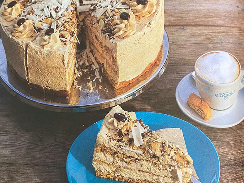 Cappuccino-Torte aus der Goldmarie am See